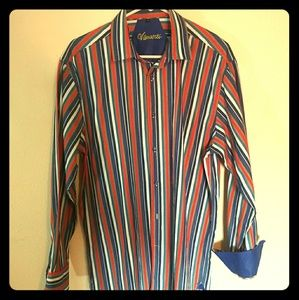 Other - Visconti Large mens button down shirt